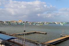 Alexandria harbour Stock Photos