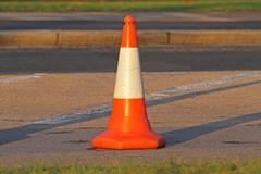 Stock Photo of traffic cone