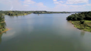 Stock Video Footage of Barragem do Passaúna