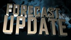 Forecast Update Animation - stock footage
