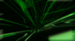 GREEN ROATING SEARCH LASER LIGHT Motion Graphic (AFOOTAGE MG--103--st1avi) Stock Footage