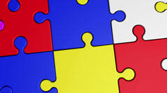 4K Puzzle 12 Stock Footage