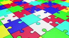 Puzzle 1 Stock Footage