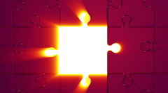Puzzle 5 Stock Footage