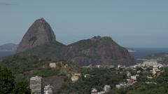 068 Rio, Coastline, Sugarleaf Mountain Stock Footage