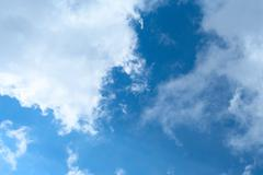 Stock Photo of blue cloudy sky