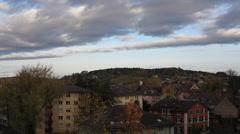 Timelapse of Winterthur - 1080p Stock Footage