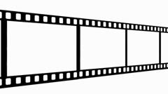 Scrolling Filmstrip Stock Footage