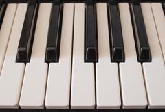 Musiikki näppäimistön näppäimet Kuvituskuvat