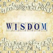 wisdom - stock illustration