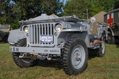world war two military vehicle - stock photo
