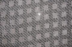 Openwork of orenburg downy shawl. Stock Photos
