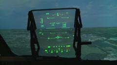 Boeing C-17 Flight Simulator Stock Footage