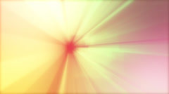 Animated ride through a colorful spectrum of colors - stock footage