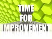 Stock Illustration of Time for improvement
