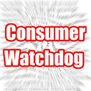 Consumer Watchdog - stock illustration