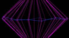 NeonPlex VJ Loop (4) Stock Footage