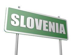 Slovenia - stock illustration