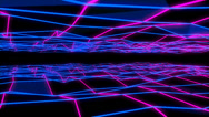 Stock Video Footage of NeonPlex VJ Loop (7)