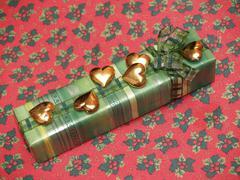 luxury gift - stock photo