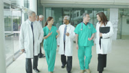 Stock Video Footage of Assisting people when life throws unexpected obstacles in your way. A hospital