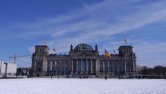 German parliament Stock Footage