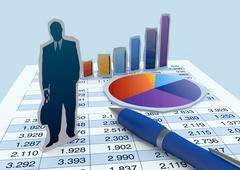 Stock Illustration of businessman