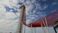 Tower at Circuit of The Americas Stock Footage