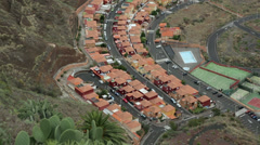 New housing, santa cruz, la palma, spain Stock Footage