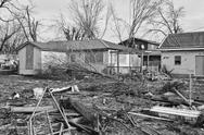 Stock Photo of tornado storm damage xiv
