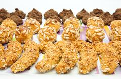 Cookies and pastries Stock Photos