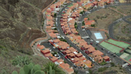 Stock Video Footage of new housing, santa cruz, la palma, canary islands, spain