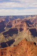 between mohave point and hopi point - stock photo