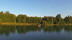 Lake starnberg, bavaria, germany Stock Footage
