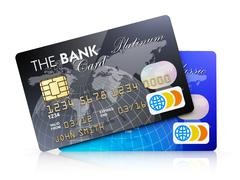 Stock Illustration of Credit cards