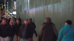 Slow motion NYC passersby (1 of 10) - stock footage