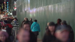 Slow motion NYC passersby (2 of 10) - stock footage