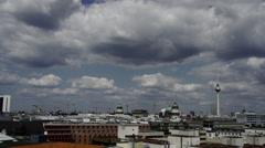 Berlin Skyline 1 Stock Footage