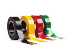 adhesive tape - stock photo