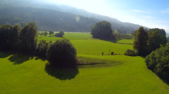 Landscape near bad toelz Stock Footage