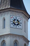 Kirchturm uhr Stock Photos