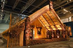 Maori marae Stock Photos