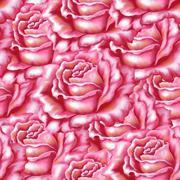 Saumaton tausta, kukka ruusu Piirros