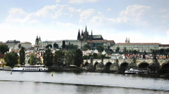 Czech republic, prague Stock Footage