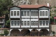 Stock Photo of old traditional ottoman houses