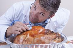 Thanksgiving casualty Stock Photos