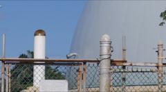 Experimental nuclear facility - Bonus nuclear power plant Puerto Rico 2 of 2 Stock Footage
