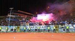 Soccer Ultras Stock Footage