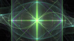 Morphing Fractal flame FX - stock footage