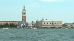 San Marco lagoon 06 Stock Footage